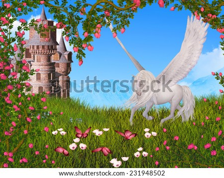 fairy tale - stock photo