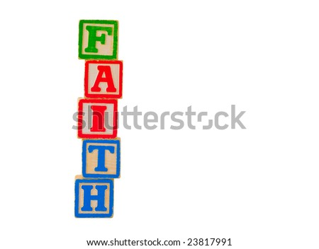 FAITH Letter Blocks 1