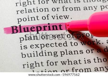 Fake dictionary dictionary definition word blueprint stock photo fake dictionary dictionary definition of the word blueprint including key descriptive words malvernweather