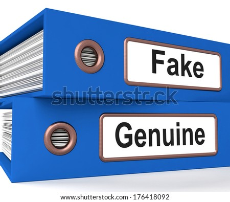 Fake Genuine Folders