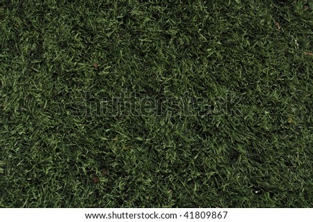 Fake Grass used on sports fields for soccer, baseball and football