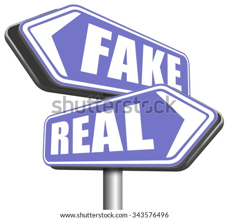 fake or real in doubt and suspicion critical thinking possible or impossible reality check searching truth being skeptic skepticism - stock photo