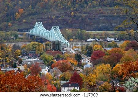 Fall scene - stock photo