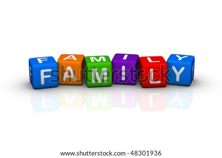 family (buzzword cubes series)