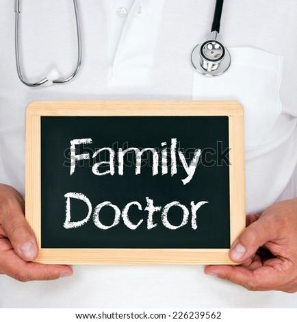 Family Doctor - stock photo