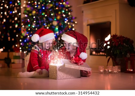 Christmas eve stock images royalty free images vectors for Best warm places to live with a family