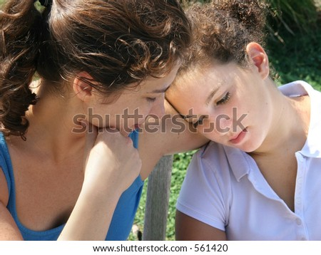 Family problems - stock photo
