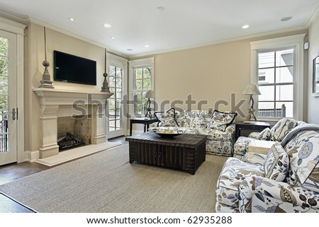 Family Room Interior Stock Photos Royalty Free Images Vectors