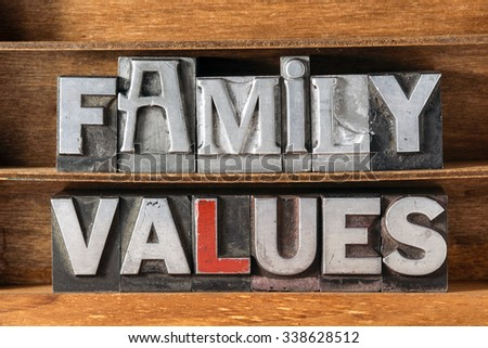 types of family values To conclude, with family ties getting closer and closer, values of family relationships in vietnam would certainly survive through time and change.