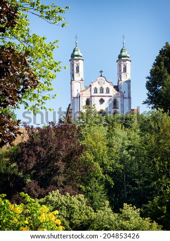 famous bavarian church in bad toelz