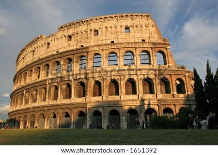 Famous Italian Landmark, - stock photo