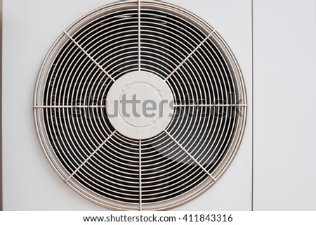 fan coil unit of air conditioner