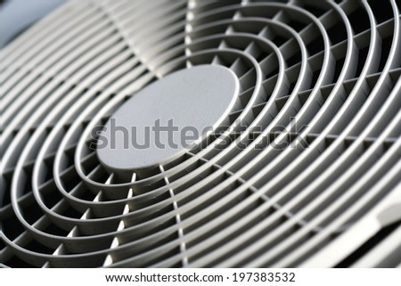 fan of air conditioner background - stock photo