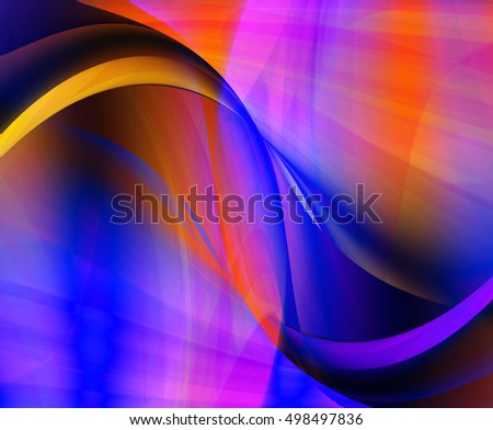 Fancy light wave abstract background