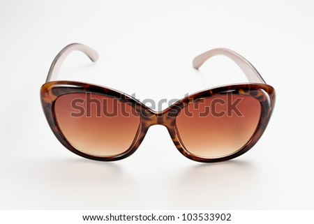 Fancy women sunglasses, close up