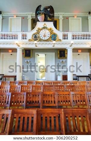 Faneuil Hall - stock photo