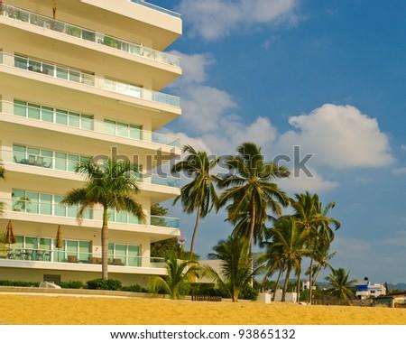 Fantastic beach coast at Maui, Hawaii. - stock photo
