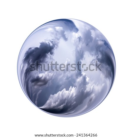 Fantastic colorful ball - stock photo