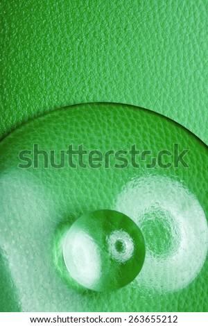 Fantastic texture - UFO - stock photo