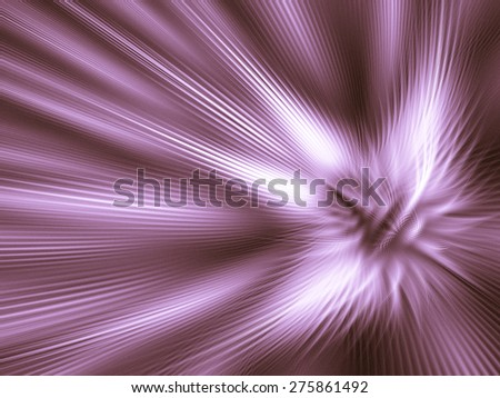 Fantastic unusual abstract background  in rich lilac colors with luminous reflections - stock photo