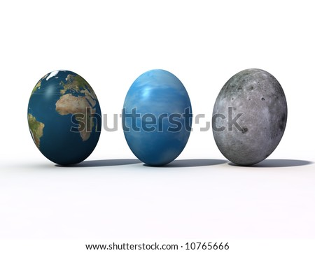 Fantastic view of the Easter eggs