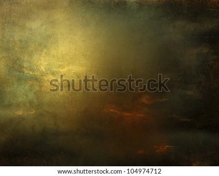Fantasy background scenery - stock photo