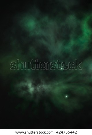 """Far being shone nebula and star field against space. """"Elements of this image furnished by NASA"""". - stock photo"""