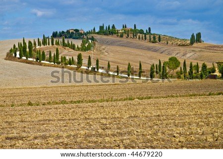 Farm House in Crete Senesi