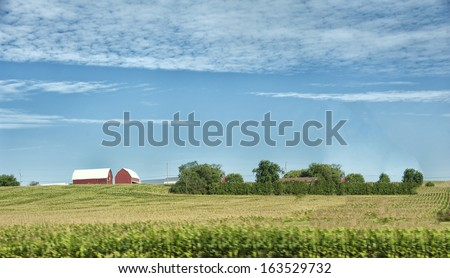 Farmer house in New York state