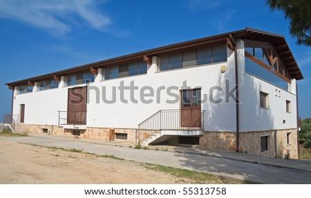 Farmhouse. - stock photo