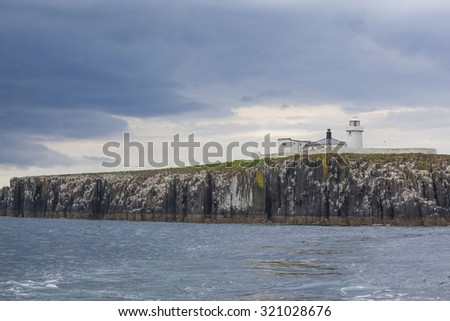 Farne Islands off the coast of Northumberland