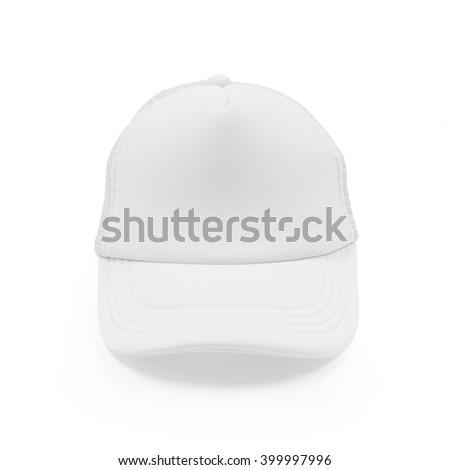 Fashion cap. Fashion cap isolated. Cap isolated. Hat isolated. Blank cap. Blank fashion cap. Blank sport cap. Modern style cap.  Sun protection. Hot protection. Hat isolated. Fashion hat. Blank cap. - stock photo