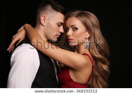 pic stock photo couple hugging in bed beautiful young loving couple in underwear hugging while sitti