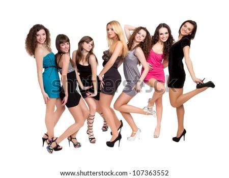 Fashion ladies - stock photo
