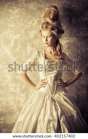 Enjoyable Renaissance Woman Stock Images Royalty Free Images Vectors Hairstyles For Women Draintrainus