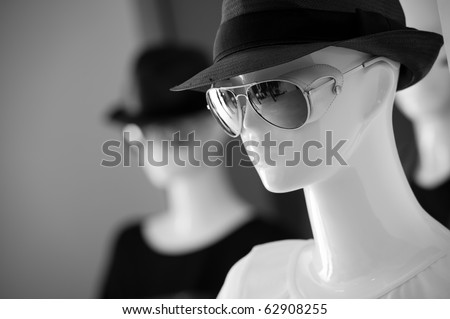 Fashion store - stock photo