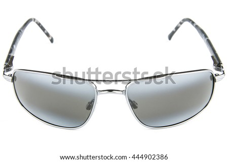 Fashion sunglasses isolated, eyewear, various models