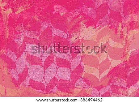fashionable abstract acrylic background. new fashion trend