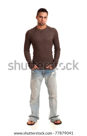 Fashionable Young Man - stock photo