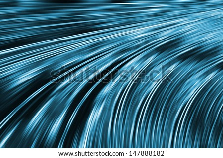fast data transmission  - stock photo