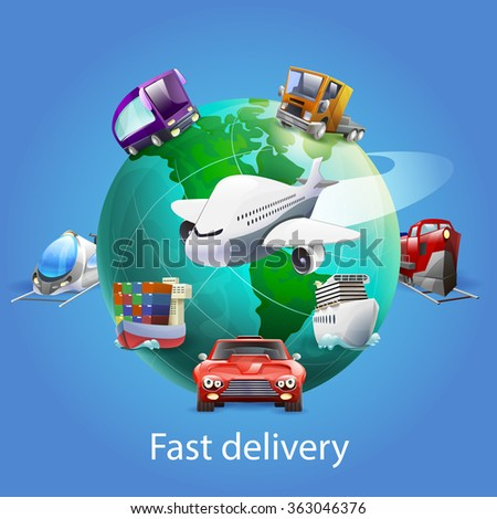 Fast delivery post