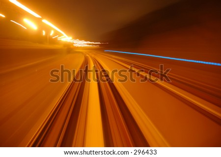 fast lane 2 - stock photo
