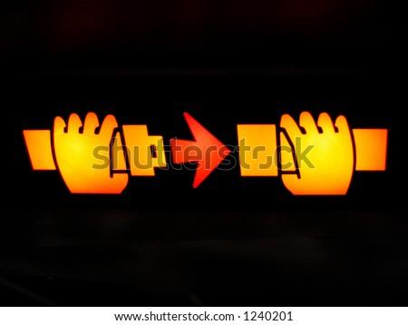 Fasten your seat belt! - stock photo