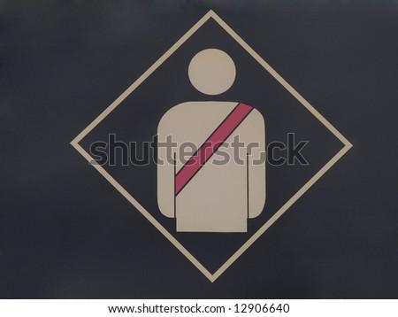 Fasten your seat belt - stock photo