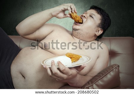 bbw eating food
