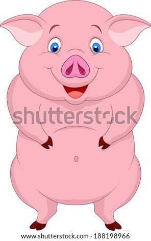 Fat Pig Pink Dress