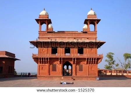 Fatehpur sikiri, The Jewel house - stock photo