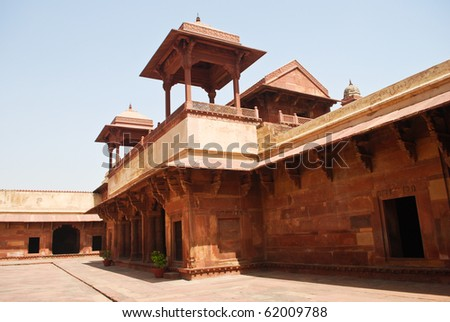 Fatehpur Sikri - ancient city near Agra, India, Uttar Pradesh