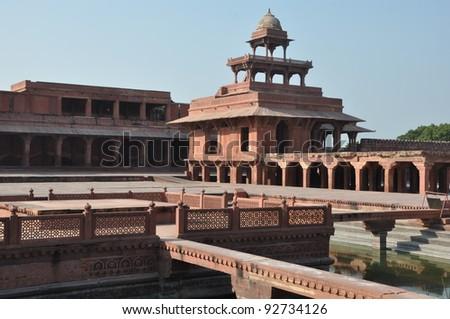 Fatehpur Sikri in India - stock photo