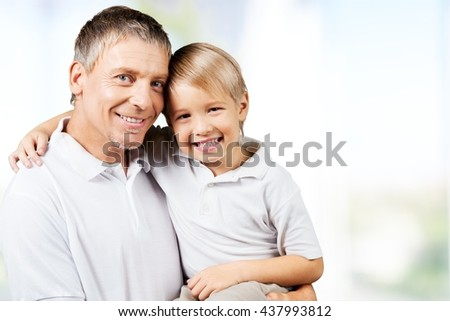 Father. - stock photo